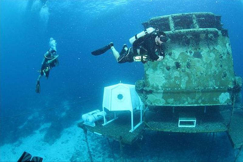 подводная лодка плотность воды глубина